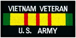Vietnam Veteran Army Patch