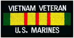 Vietnam Veteran Marines Patch