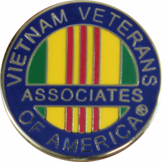 "Vietnam Veterans of America Associates Mini Lapel Pin (1/2"")"