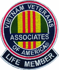 "AVVA Life Member 8"" Jacket Patch"