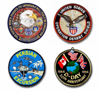 War Campaign Patches and Insignias