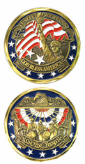 We The People Challenge Coin