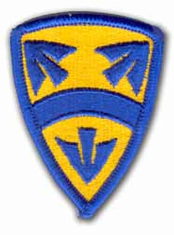 "15th National Support 2½"" MILITARY PATCH"