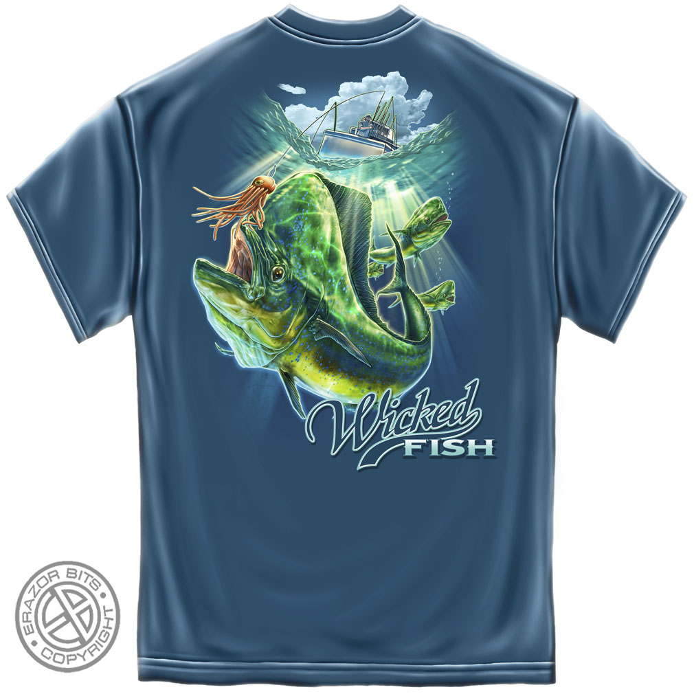 wicked fish mahi mahi t shirt