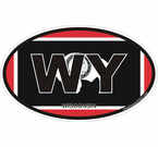 Wyoming State Decals Stickers