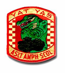 """Yat Yaz"" Marine Assault Amphibious School 4"" Military Patch"