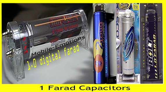 1 0 Farad Capacitors - Power Caps