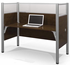 1-Person Starter Cubicle Workstation w/Windows