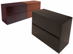 2-Drawer Veneer Lateral Files - IN STOCK!