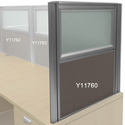"24""H Desk Mount Privacy Panel Series - 24""W x 24""H Panel"