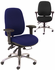 24 Hour Multi-Shift Intensive Use Ergonomic Chair-400 lb. Capacity!
