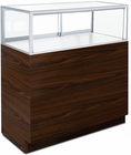 3'W Full-View Counter Merchandise Locking Display Case - Other Sizes Available