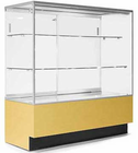 3' Width Full-Vision Merchandise Locking Display Case - Other Sizes Available