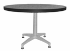 "36"" Round Designer Laminate End Table"