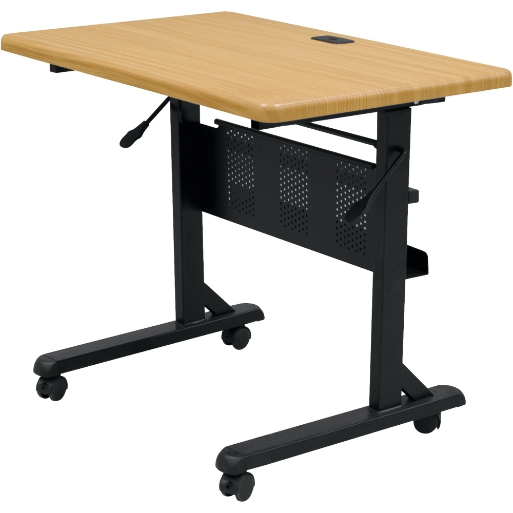 Modular flip top training tables 60 w x 24 d training for Best html table