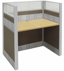 "36"" Wide Premium Series Carrels - 36""W x 24""D x 48""H Starter Carrel - See Other Sizes"