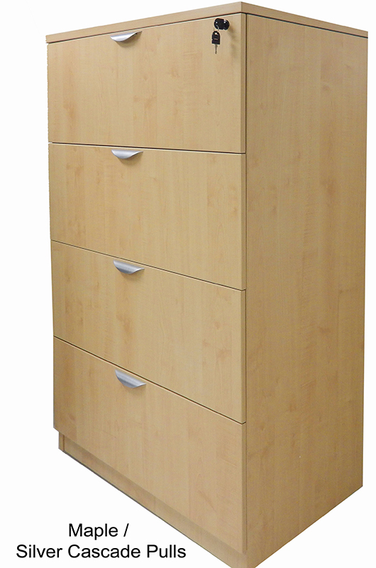 Famous 4-Drawer Laminate Lateral Files - In Stock! OO18