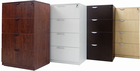 4-Drawer Laminate Lateral Files � In Stock!