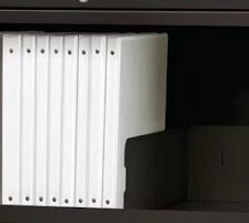 4 Pack Front-to-Back Filing Rails