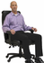 400 lbs. Capacity Office Conference Chair w/Extra Wide 23-1/2