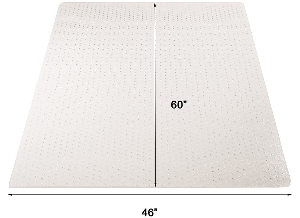 high pile carpet 25 quot thick chair mats 36 quot x48 quot see more