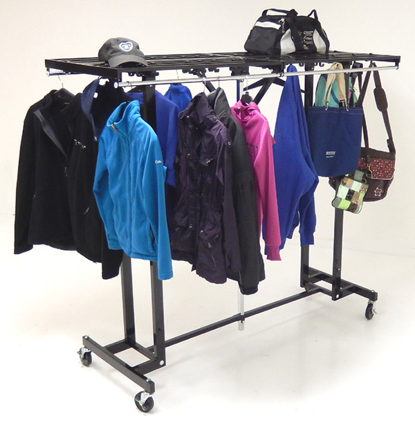 6u0027 Wide Portable Folding Coat Rack   IN STOCK!