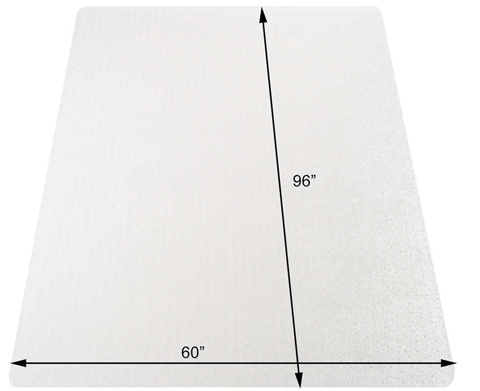 """Carpet Chair Mats low pile carpet .133"""" thick chair mats -36""""x48"""" - see more sizes"""
