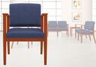 Amherst Open Arm Reception Chair Series - Guest Chair