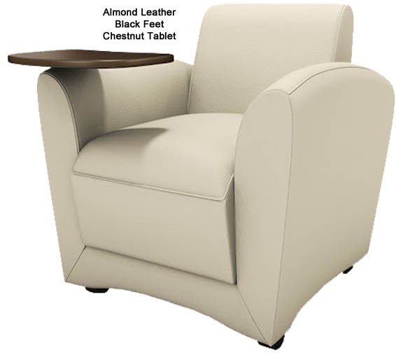 Leather Reception Seating In Stock Free Shipping