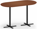 "Avon Standing Height Conference Table Series - 36"" x 72"" Standing Height Oval Conference Table"