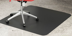 """Black Chair Mats for Hard Floors - 36""""x 48"""" Rectangular Chair Mat (Other Sizes Available)"""