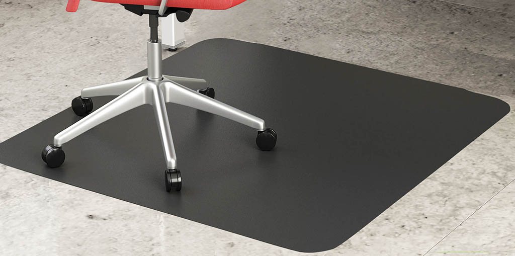 black chair mats for hard floors 36 x 48 rectangular chair mat