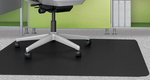 """Black Chair Mats for Low Pile Carpets - 36""""x 48"""" Rectangular Chair Mat (Other Sizes Available)"""