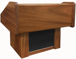 C.E.O. Solid Wood Tabletop Non-Sound Lectern