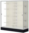 "66""H Colossus Series Locking Display Cases"