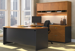 Corsa Modular Office Desks - U-Shaped Workstation