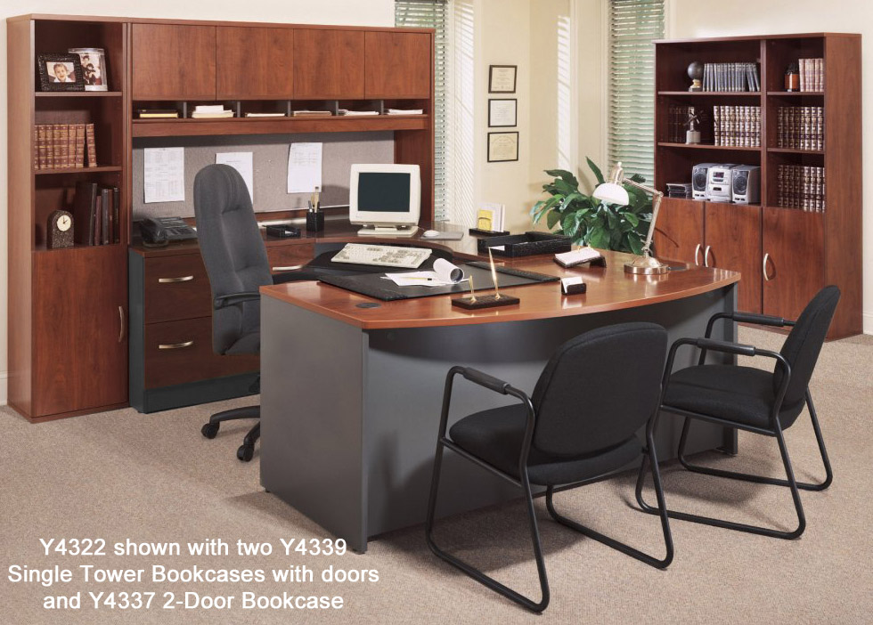 Corsa Modular Office Desks U Shaped Workstation