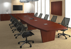 Custom Boat Shaped Conference Tables
