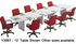 Custom Boat-Shaped Conference Tables from 6' to 18' Long - 6' x 36