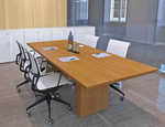 """Custom Rectangular Boardroom Table - 96"""" x 42"""" Table - Other Sizes Available"""