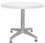 "Designer Laminate Round 20""H End Tables - 24"" Round End Table"