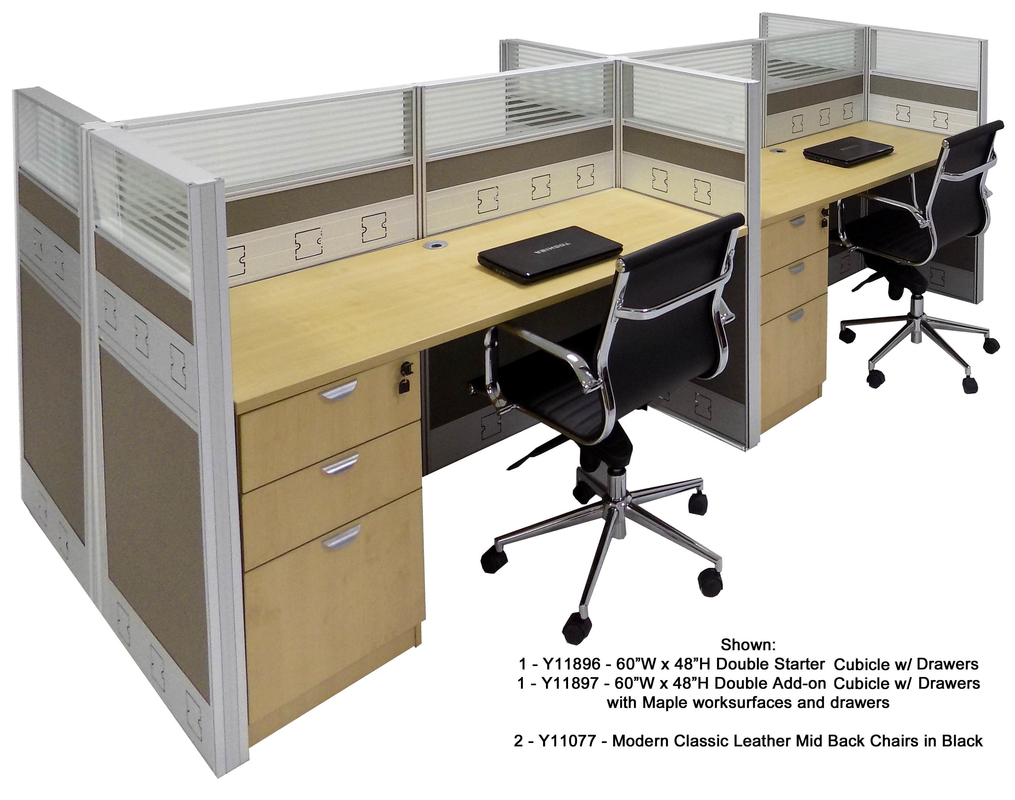 60W Premium Office Cubicle Series X 24D 48H