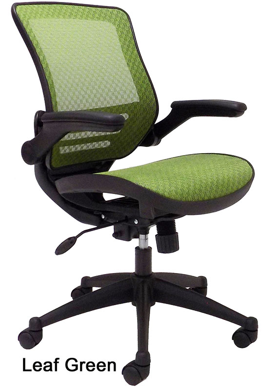 Elastimesh All Mesh Ergonomic Office Chair W Flip Up Arms