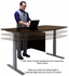 Electric Lift Height Adjustable L-Shaped Desks