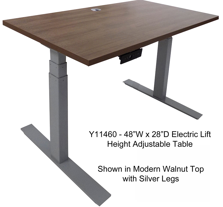 Complete Electric Height Adjustable Tables In Stock Free