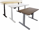 "Electric Lift Height Adjustable Tables - 48""W x 24""D - Other Sizes Available"