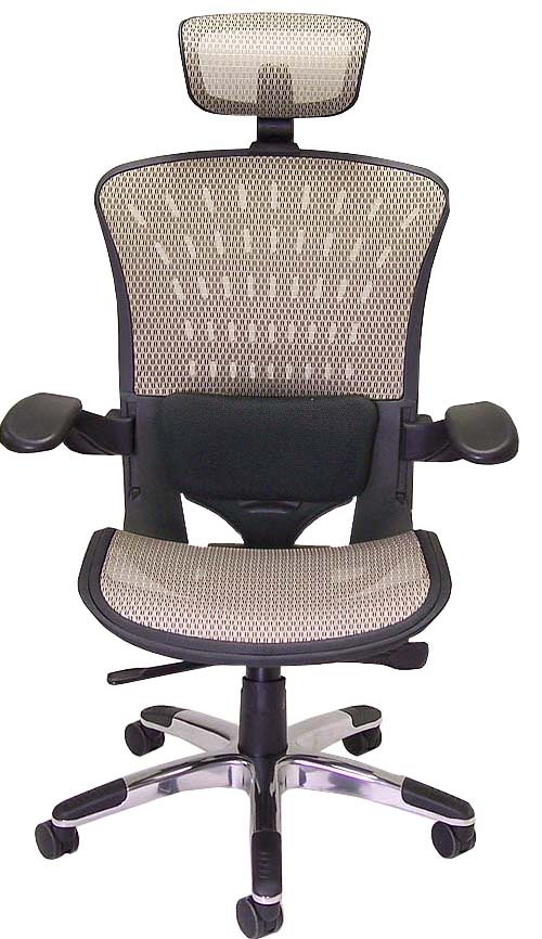 ergonomic mesh office seating in stock free shipping. Black Bedroom Furniture Sets. Home Design Ideas