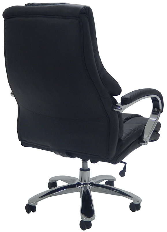 extra wide 500 lbs capacity leather desk chair w 28 w seat