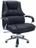 Extra Wide 500 Lbs. Capacity Leather Desk Chair w/ 28