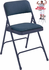 Fabric Padded Steel Folding Chair